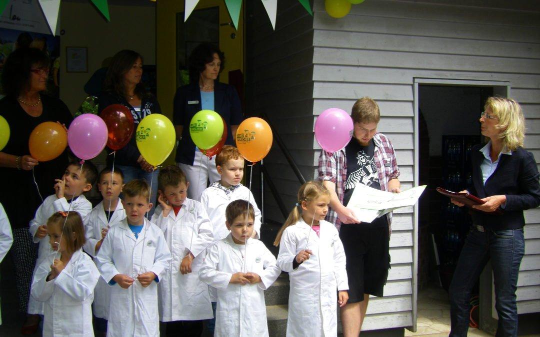 Sommerfest und Zertifizierung zum Haus der kleinen Forscher