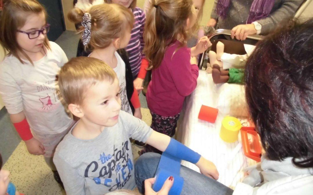 Weiershagener Kita-Kinder im Krankenhaus Engelskirchen