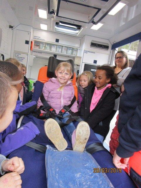 Die Vorschulkinder besuchen das Krankenhaus Engelskirchen