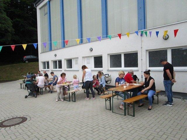 Sommerfest in (der Nähe der) Kita